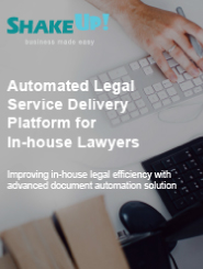 Automated Legal Service Delivery Platform for In-house Lawyer_Brochure